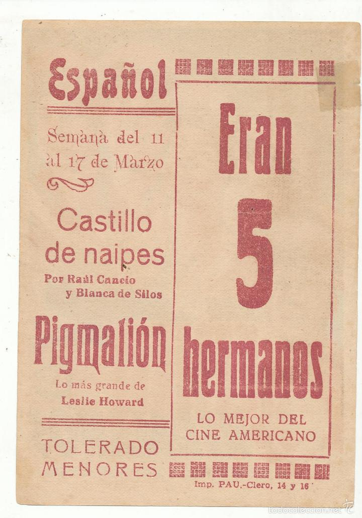 Cine: Eran cinco hermanos. Soligó. Sencillo de 20Th Century. Cine Español. - Foto 2 - 55859140