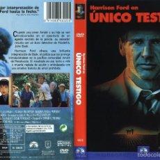 Cine: ÚNICO TESTIGO. Lote 55912590