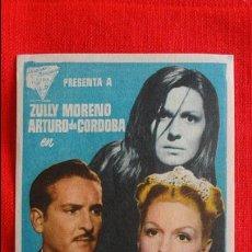 Cine: MARIA MONTECRISTO, SENCILLO ORIGINAL EXCTE ESTADO, ZULLY MORENO E ARTURO DE CORDOBA, SIN PUBLICIDAD. Lote 55993760