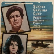 Cine: SCANO BOA-JOSÉ SUAREZ-CARLA GRAVINA-EMMA PENELLA- SIN PUBLICIDAD- . Lote 56125537