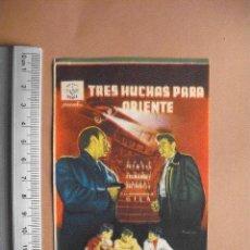 Cine: TRES HUCHAS PARA ORIENTE- 1955 - EXCELENTE. Lote 56153443