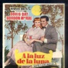 Flyers Publicitaires de films Anciens: PROGRAMA DE CINE : A LA LUZ DE LA LUNA. PC-4140. Lote 90691003