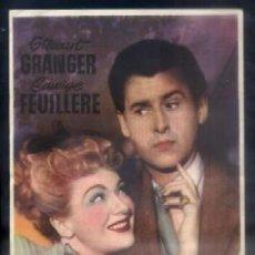 Folhetos de mão de filmes antigos de cinema: PROGRAMA DE CINE : EL ENEMIGO DE LAS MUJERES. PC-4160. Lote 56215255