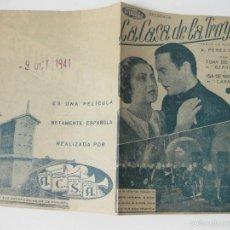 Cine: PROGRAMA DE MANO DE CINE DE LA PELICULA LA CASA DE LA TROYA. 1941. Lote 56256682
