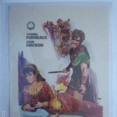 Cinema - PROGRAMA DE CINE DUELO DE REYES. SIN PUBLICIDAD. - 56312593
