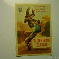 Cine: PROGRAMA EL RENEGADO BLANCO - ABEL SALAZAR-PUBLICIDAD. Lote 56314027