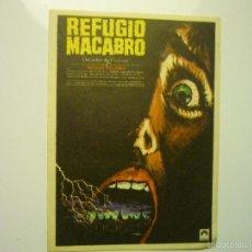 Cine: PROGRAMA REFUGIO MACABRO - PETER CUSHING. Lote 56317012