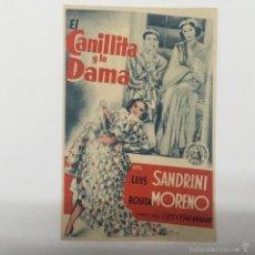 Cine: LA CANILLITA Y LA DAMA, CINE GADES 1941. Lote 56397140