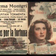 Flyers Publicitaires de films Anciens: PROGRAMA DOBLE DE CINE: EL CAPITAN TORMENTA. PC-4229. Lote 56466746