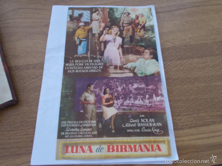 Cine: LUNA DE BIRMANIA. SIN PUBLICIDAD. DOBLE - Foto 2 - 56551864