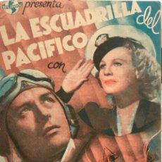 Cine: LA ESCUADRILLA DEL PACIFICO-DOBLE- RAY MILLAND- CINE PICAROL DE BADALONA-. Lote 56637909
