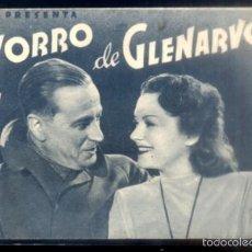 Folhetos de mão de filmes antigos de cinema: PROGRAMA DOBLE DE CINE: EL ZORRO DE GLENARVON. PC-4330. Lote 56639639