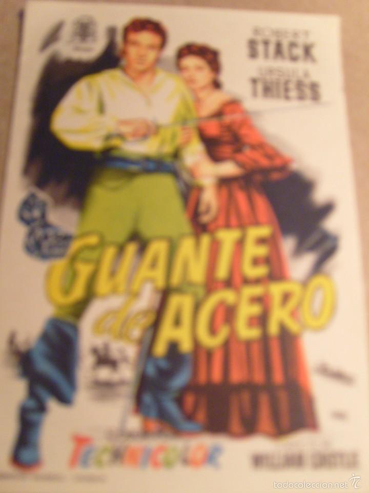GUANTE DE ACERO (Cine - Folletos de Mano - Terror)