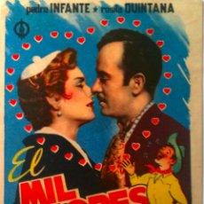 Kino - MIL AMORES- PEDRO INFANTE- ROSITA QUINTANA- SIN PUBLICIDAD - 56697359