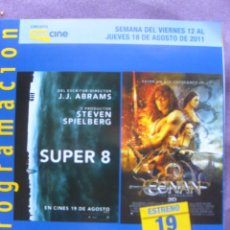 Cine: SUPER 8 Y CONAN. Lote 56753057