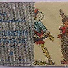 Cine: LAS AVENTURAS DE CUCURUCHITO Y PINOCHO - PINOCHO PIPA Y EL DRAGON DOBLE. Lote 56843323