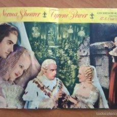 Cine: 1948 PROGRAMA DE MANO - MARÍA ANTONIETA. Lote 56852509