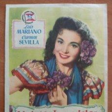 Cine: 1953 VIOLETAS IMPERIALES - CÁRMEN SEVILLA. Lote 56852905
