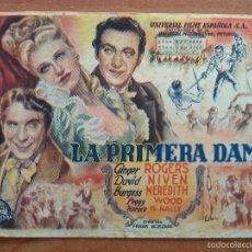 Cine: LA PRIMERA DAMA - GINGER ROGERS. Lote 56861190
