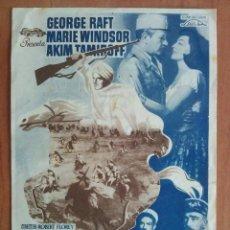Cine: LA ÚLTIMA CARGA -GEORGE RAFT. Lote 56861197