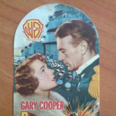 Cine: 1951 PUENTE DE MANDO - GARY COOPER. Lote 56862413