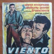 Cine: 1961 VIENTO SALVAJE - ANTHONY QUINN. Lote 56862631