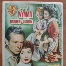 Cine: 1955 TRIGO Y ESMERALDA - JANE WYMAN. Lote 56862658