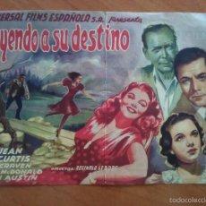 Cine: 1946 HUYENDO DE SU DESTINO - GLORIA JEAN. Lote 56862754
