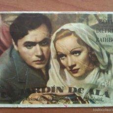 Cine: 1947 EL JARDÍN DE ALÁ - MARLEN DIETRICH. Lote 56863258