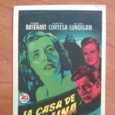 Cine: LA CASA DE LA COLINA . Lote 56863301