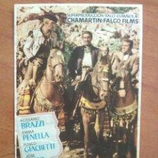 Cine: 1954 CARNE DE HORCA - JOSÉ NIETO. Lote 56866670