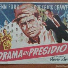 Cine: 1954 DRAMA EN EL PRESIDIO - GLENN FORD. Lote 56869313