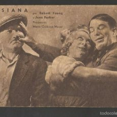 Cine: LUISIANA - METRO GOLDWYN MAYER. Lote 56926150