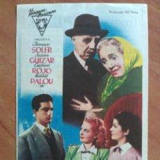 Cine: 1954 CUANDO LOS PADRES SE QUEDAN SOLOS. Lote 56941118