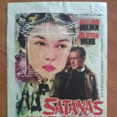 Cine: 1962 SATANAS NUNCA DUERME -WILLIAM HOLDEN. Lote 56941380