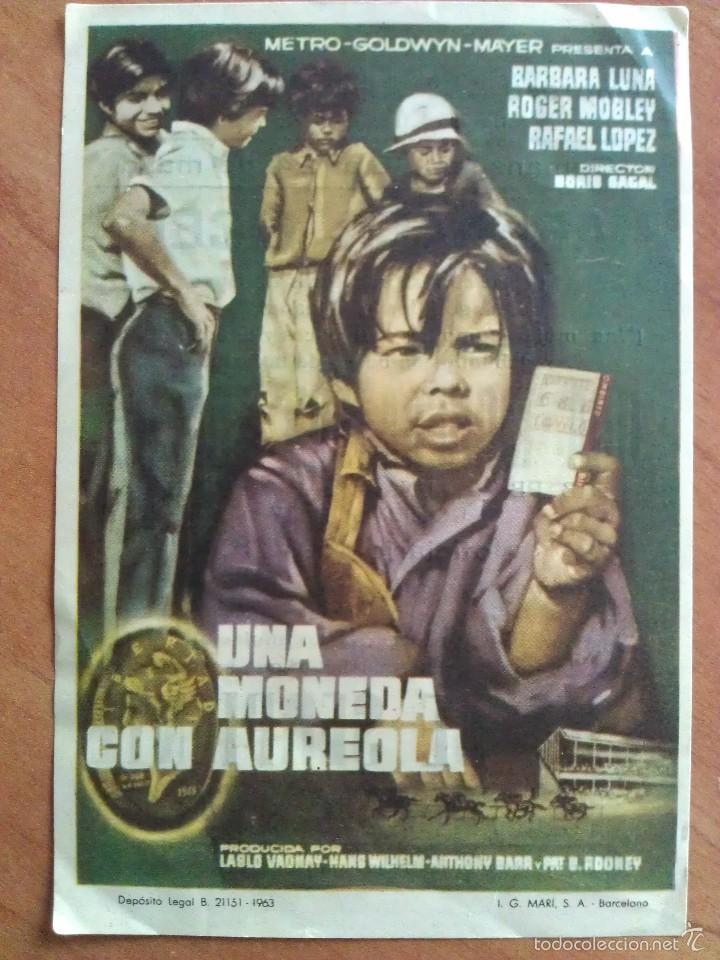UNA MONEDA CON AUREOLA - (Cine - Folletos de Mano - Drama)