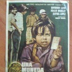 Cine: UNA MONEDA CON AUREOLA - . Lote 56949458