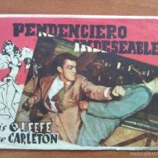 Cine: PENDNCIERO INDESEABLE - SIN PUBLICIDAD. Lote 56949470