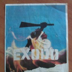Cine: 1963 EXODO - PAUL NEWMAN. Lote 56951190