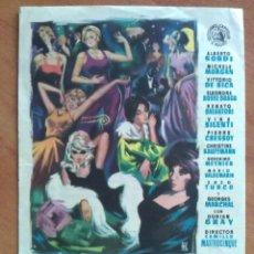 Cine: 1961 VACACIONES EN CORTINA D ´AMPEZZO - ALBERTO SORDI. Lote 56959608