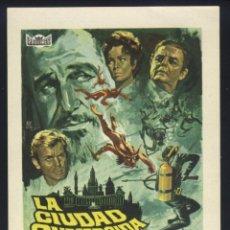 Cine: P-6329- LA CIUDAD SUMERGIDA (THE CITY UNDER THE SEA (WAR-GODS OF THE DEEP)) (VINCENT PRICE). Lote 114471886