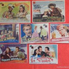 Cine: LOTE 18 PROGRAMAS GRANDES ORIGINALES, LSGRA2. Lote 56987068
