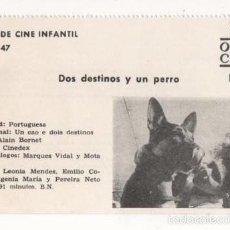 Cine: (ALB-TC-1) FICHERO DE CINE INFANTIL OTRO AIRE DOS DESTINOS Y UN PERRO. Lote 56998176