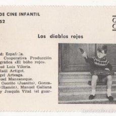 Cine: (ALB-TC-1) FICHERO DE CINE INFANTIL OTRO AIRE LOA DIABLOS ROJOS. Lote 56998188