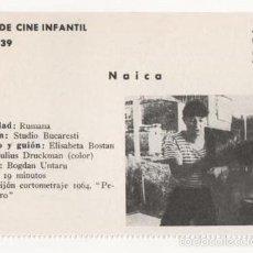 Cine: (ALB-TC-1) FICHERO DE CINE INFANTIL OTRO AIRE NAICA. Lote 56998216