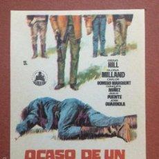 Cine: OCASO DE UN PISTOLERO , GRAIG HILL , GLORIA MILLAND-FALBUN. Lote 180107012
