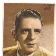 Folhetos de mão de filmes antigos de cinema: CAMPEONES. PUBLICIDAD DE TIENDA DE MÚSICA AL DORSO. Lote 57107888