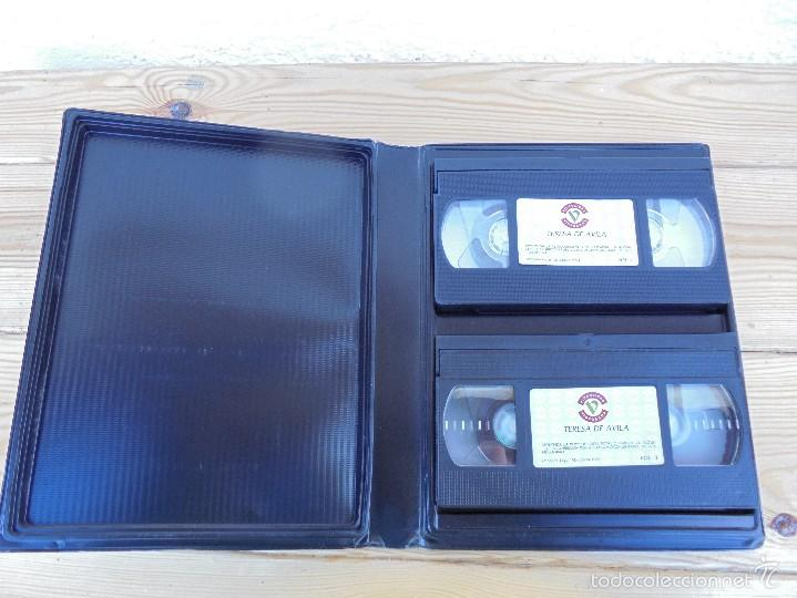 Cine: LA ESPAÑA AUTENTICA. BIBLIOTECA AUDIOVISUAL. TERESA DE AVILA. JOSE JIMENEZ LOZANO. 2 VHS. VER FOTOS. - Foto 7 - 57113049