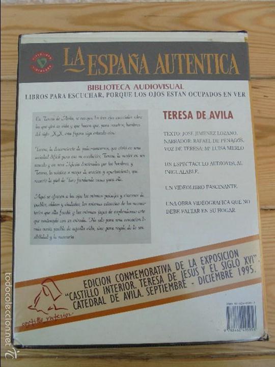 Cine: LA ESPAÑA AUTENTICA. BIBLIOTECA AUDIOVISUAL. TERESA DE AVILA. JOSE JIMENEZ LOZANO. 2 VHS. VER FOTOS. - Foto 12 - 57113049