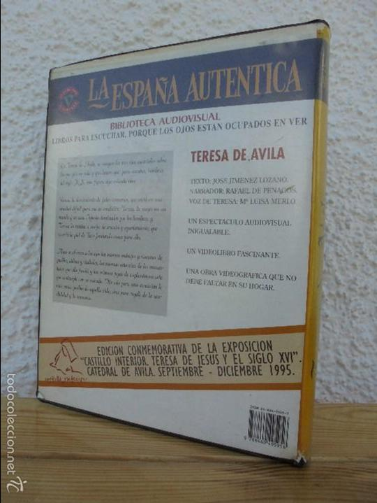 Cine: LA ESPAÑA AUTENTICA. BIBLIOTECA AUDIOVISUAL. TERESA DE AVILA. JOSE JIMENEZ LOZANO. 2 VHS. VER FOTOS. - Foto 13 - 57113049